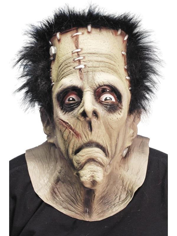 Monster Frankenstein Masker Met Haar