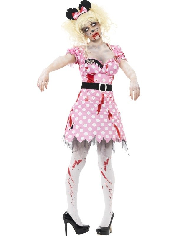 Zombie Minnie Mouse Horror Kostuum