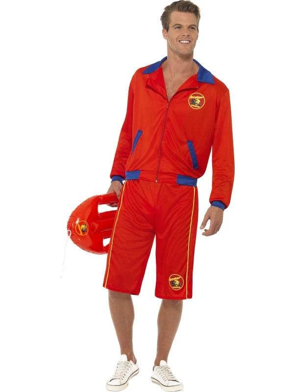 Baywatch Beach Lifeguard Heren Kostuum
