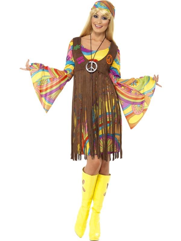 1960s Groovy Lady Dames Kostuum