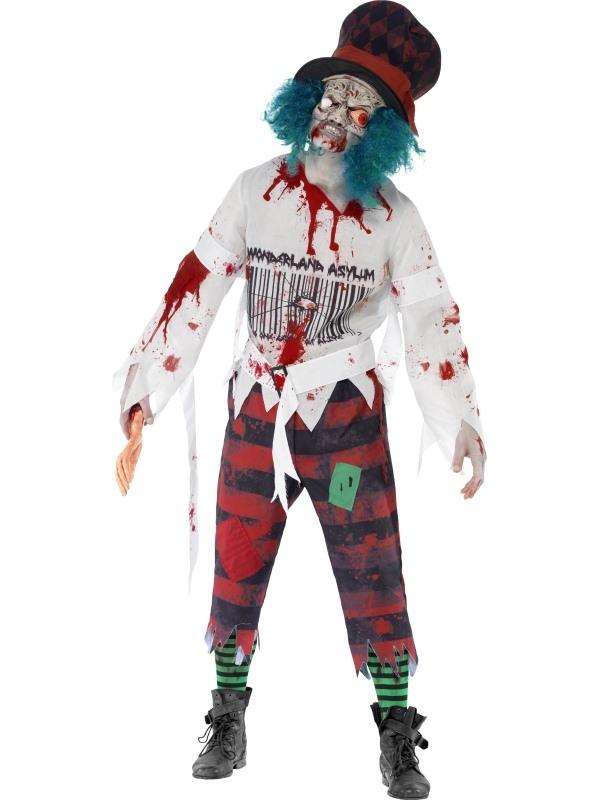 Zombie Hatter Horror Sprookjes Heren Kostuum