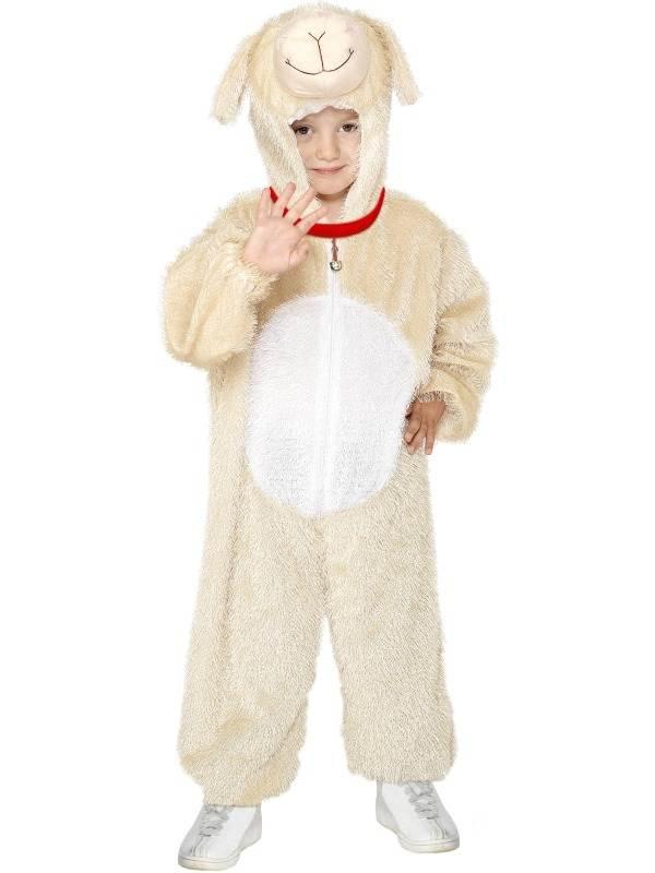 Lammetje Onesie Kinder Kostuum