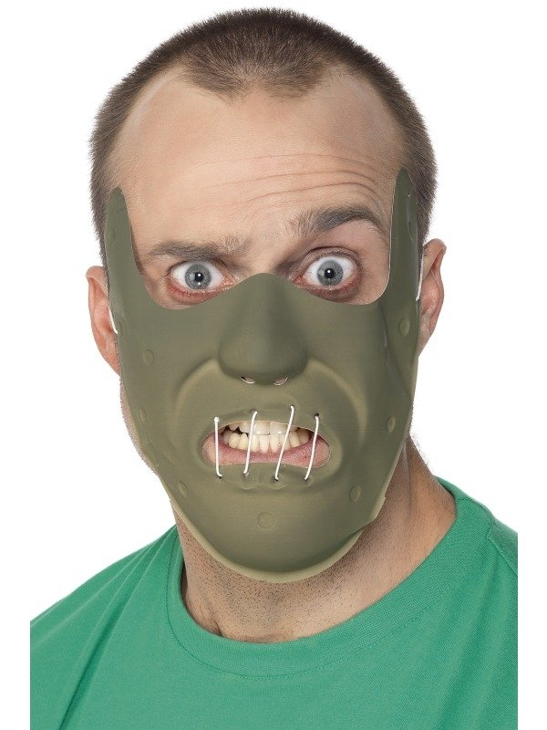 Adult PVC Restraint Horror Masker
