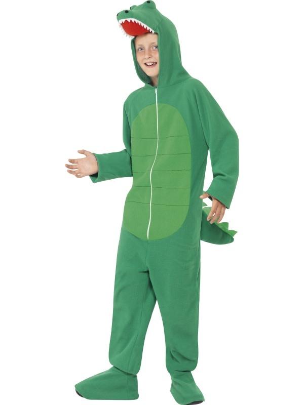 Krokodil Onesie Kinder Kostuum