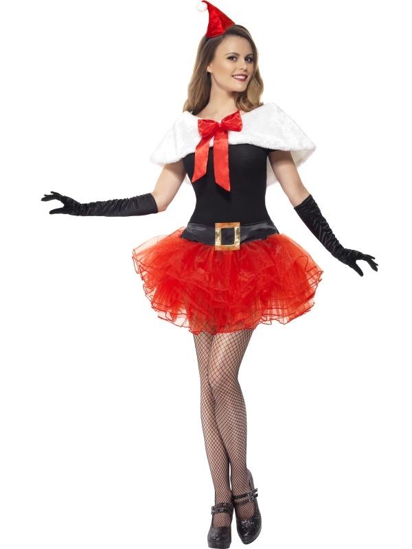 Kerstvrouw Verkleedset 3-Delig