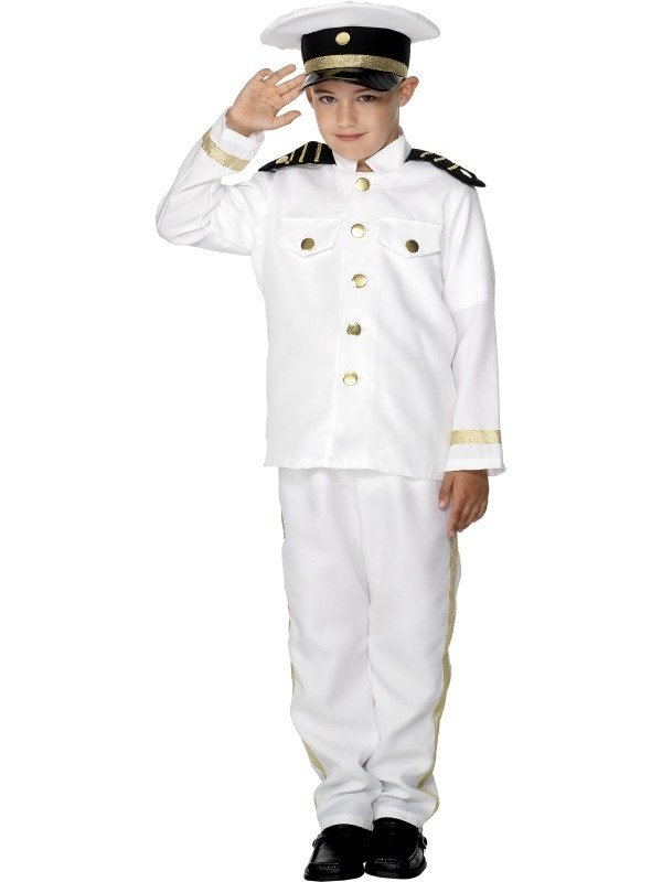 Kapitein Kinder Kostuum