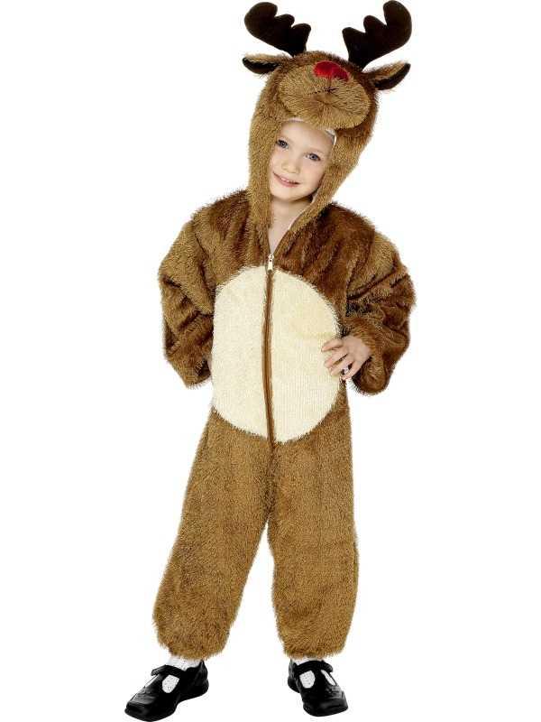 Rendier Kinder Onesie Kostuum