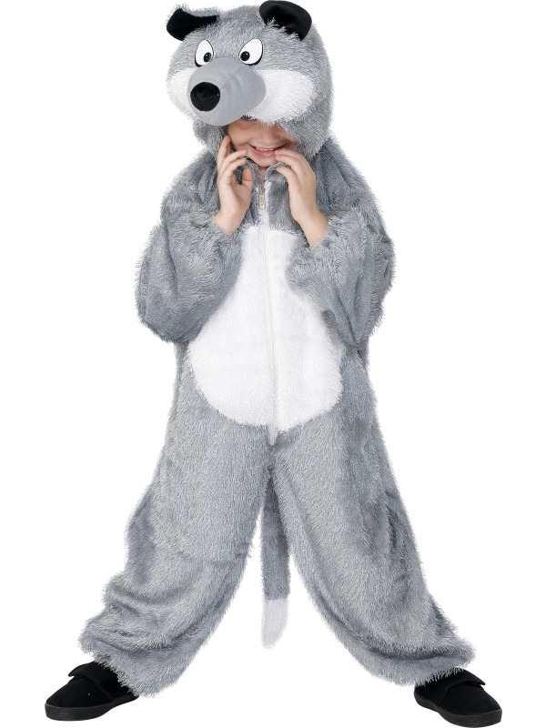 Wolf Kinder Onesie Kostuum