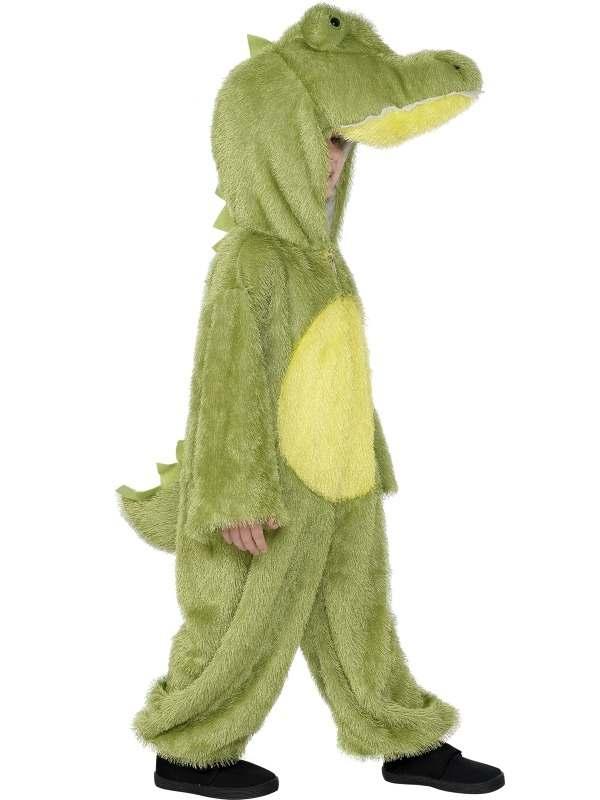 Krokodil Kinder Verkleedkleding met Muts
