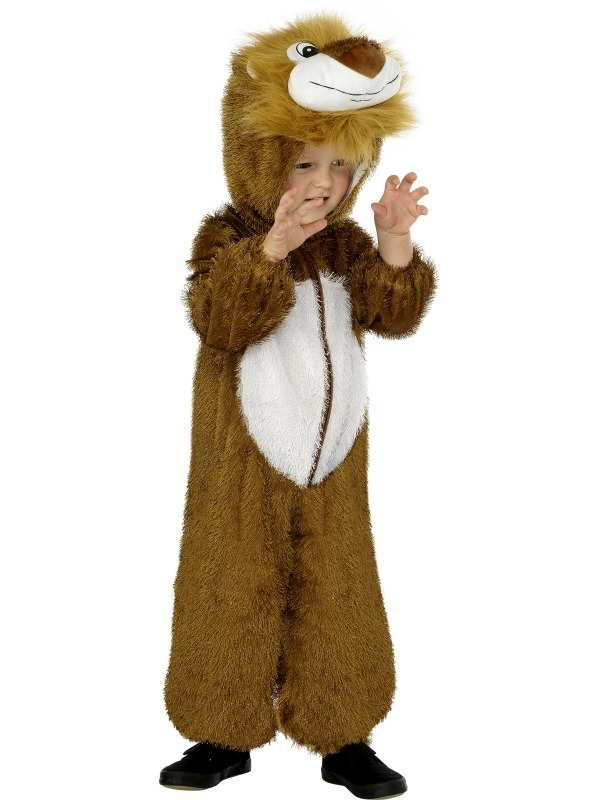 Leeuw Kinder Onesie Kostuum