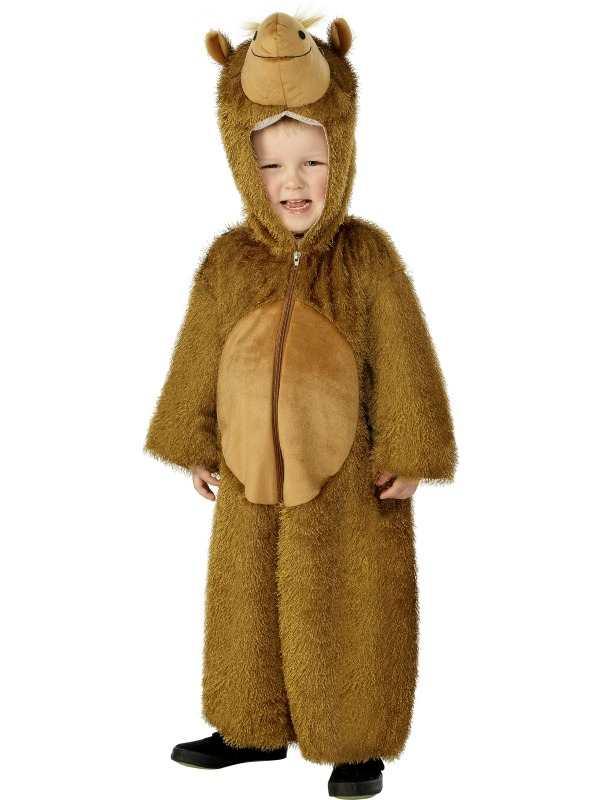 Kameel Onesie Kinder Kostuum