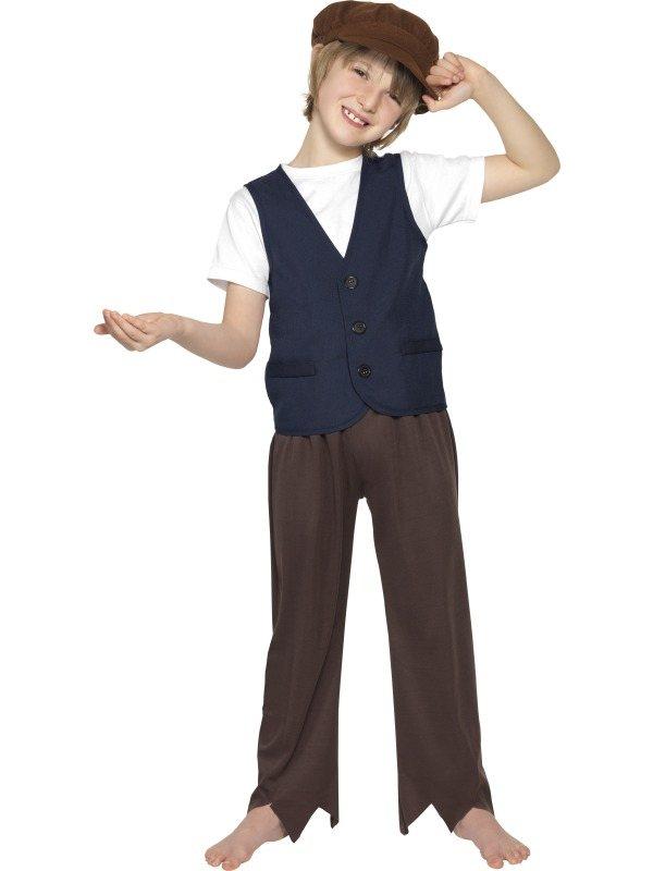 Victorian Arme Jongen Verkleedkleding