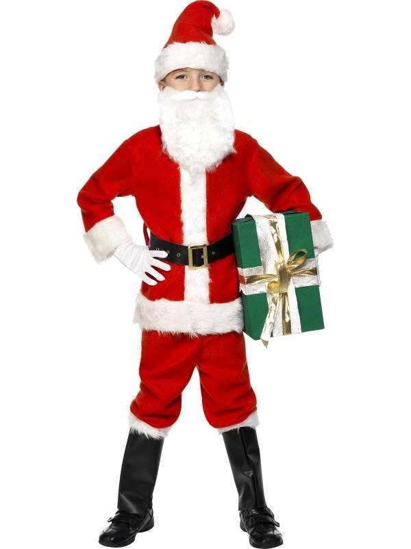 Deluxe Santa Kerstman Kostuum