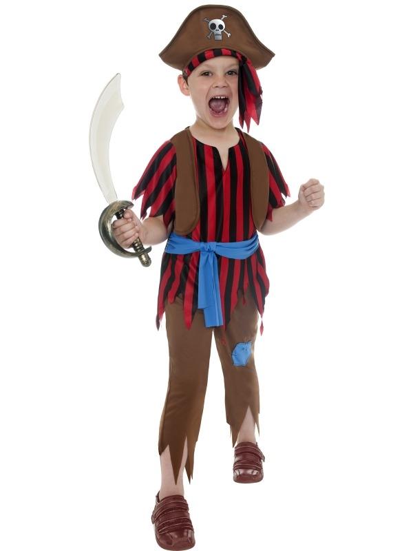 Piraten Jongens Verkleedkostuum
