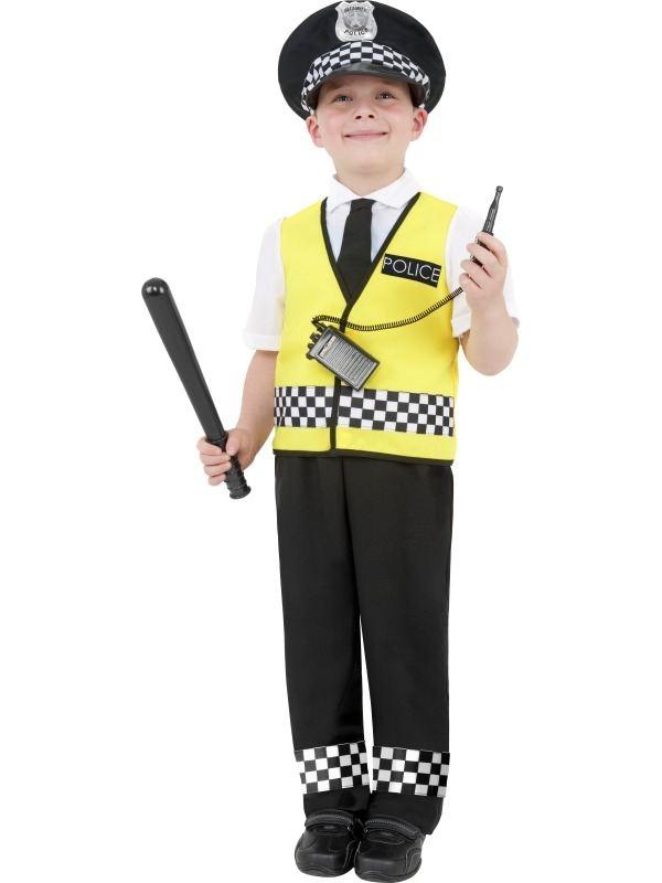 Politie Jongens Kostuum