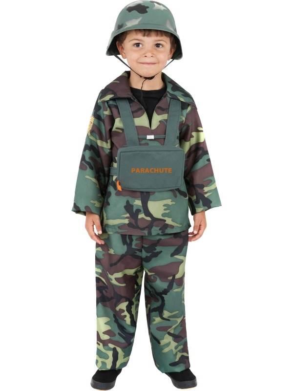Leger Soldaat  Kostuum Kinder