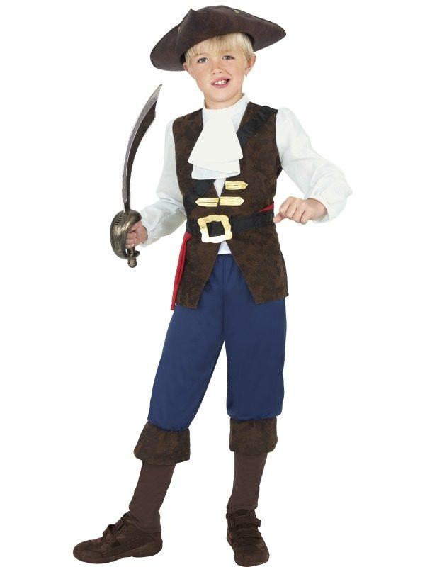 Piraat Jack Jongens Verkleedkleding
