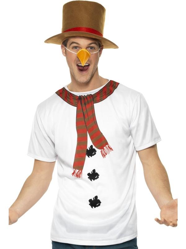 Sneeuwpop Verkleedset 3-Delig