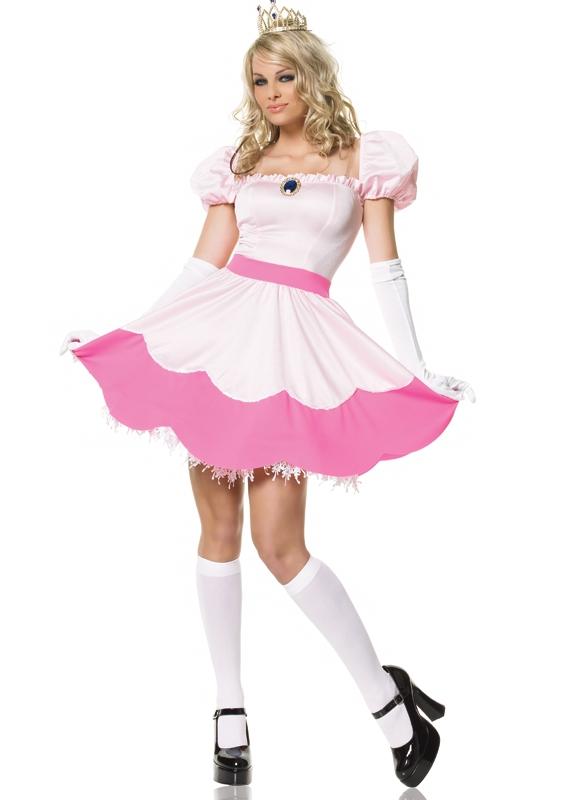 Pink Princess Kostuum