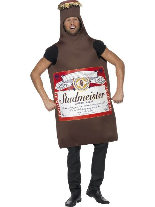 Studmeister Bier Flesje Verkleedkleding