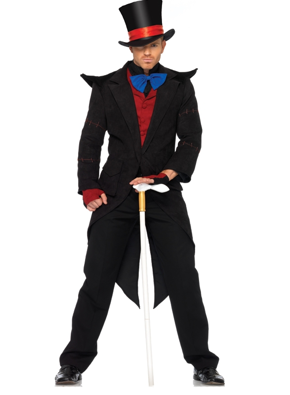 Exclusief Evil Mad Hatter Kostuum 6 Delig