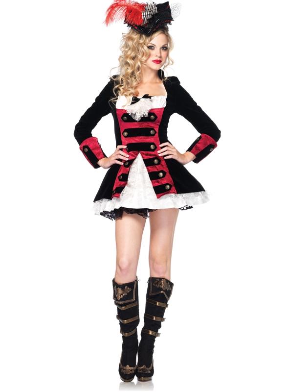 Charming Pirate Piraten Verkleedkostuum Jurk