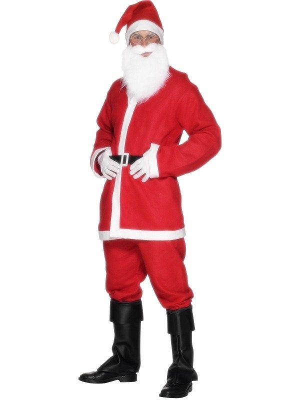 Santa Kostuum 5-delig