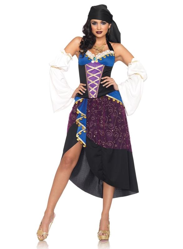 Tarot Card Gypsy Kostuum