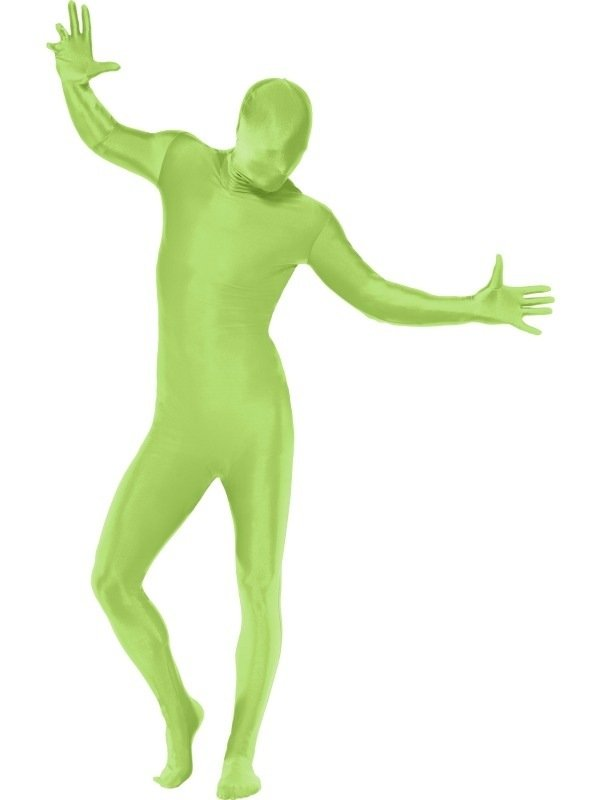 Second Skin Morph Suit Kostuum Groen