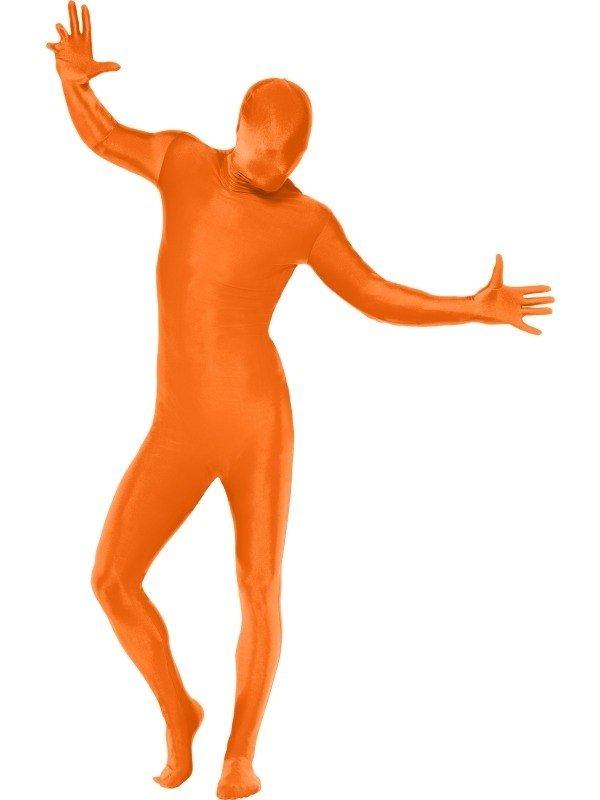Second Skin Morph Suit Kostuum Oranje