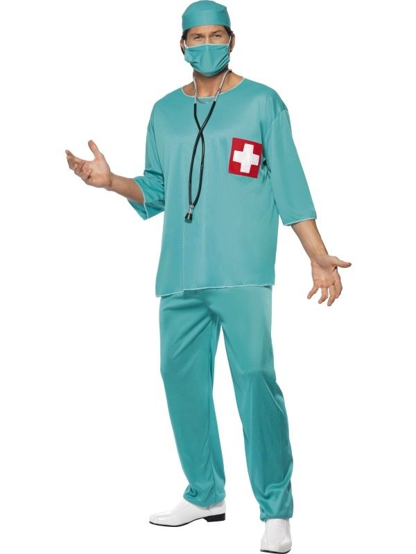 Chirurg Dokter Heren Kostuum