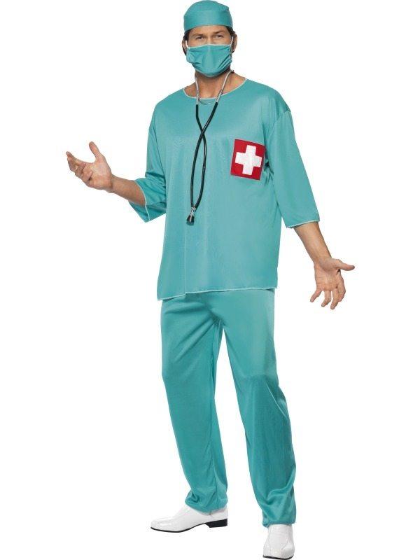 Chirurg Dokter Heren Verkleedkleding