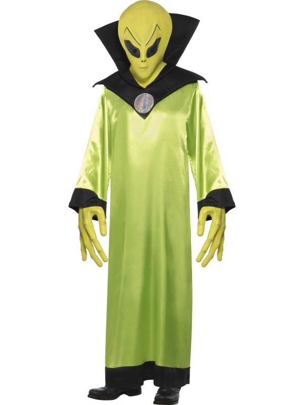 Alien Lord Heren Verkleedkleding