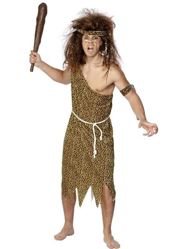 Caveman Oertijd Heren Verkleedkleding