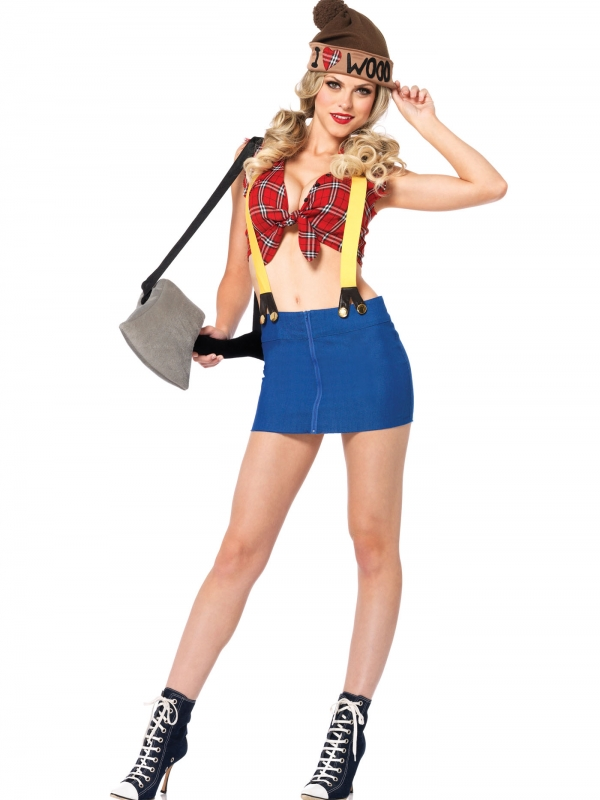 Lumber Jackie Houthakker Dames Kostuum