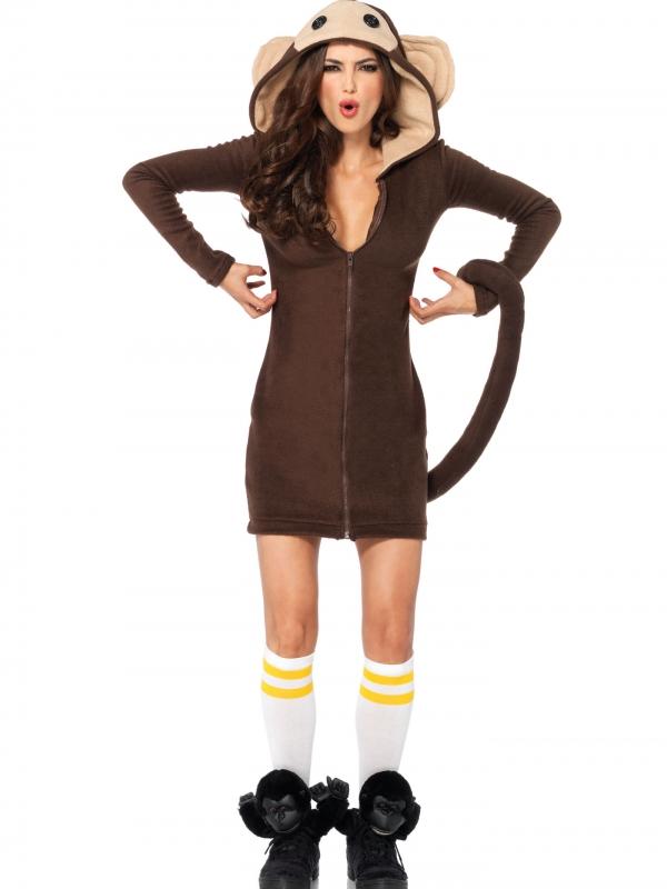 Cozy Monkey Kostuum