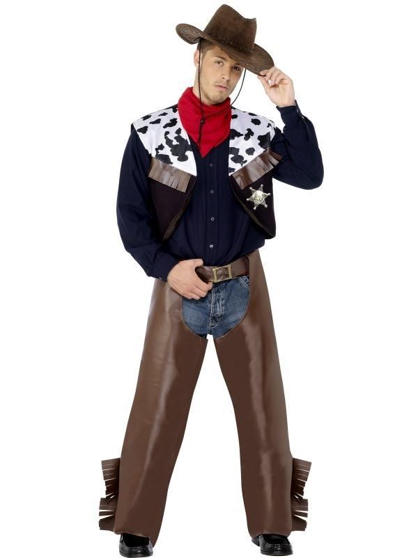 Cowboy Heren Verkleedkleding