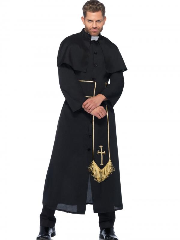 Priester Heren Kostuum 2-Delig