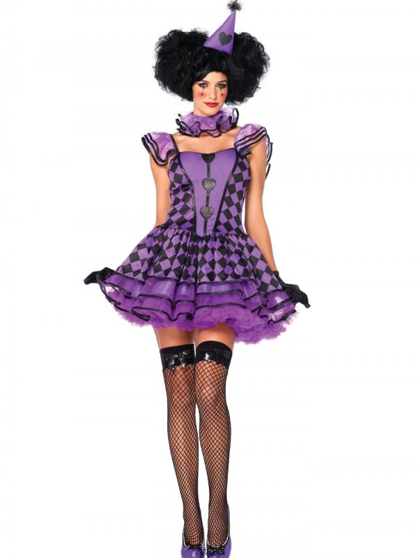 Pretty Parisian Clown Kostuum