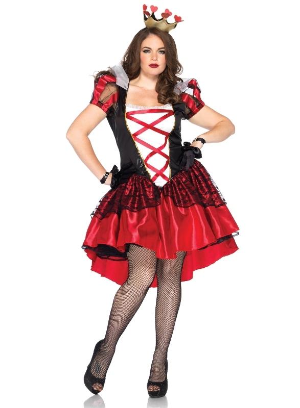 Royal Red Queen Alice in Wonderland Kostuum