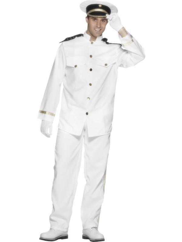 Kapitein Heren Kostuum