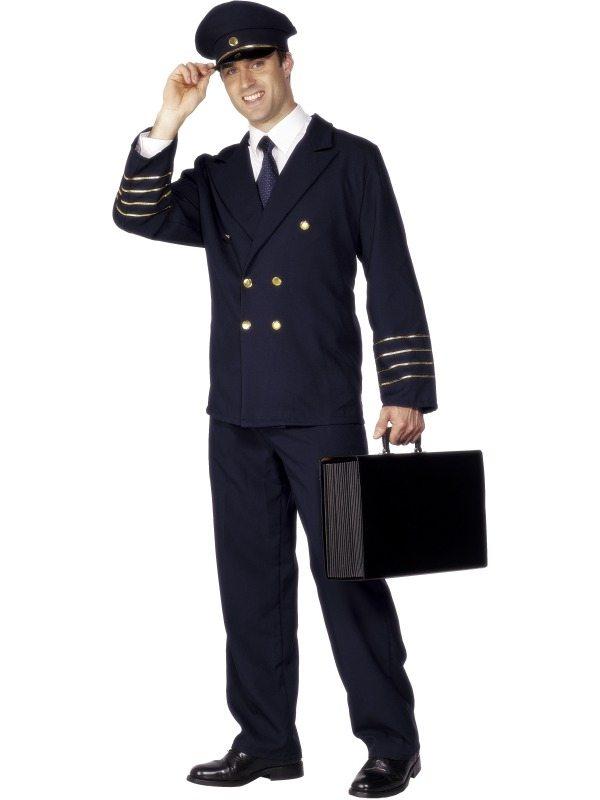 Piloten Heren Kostuum