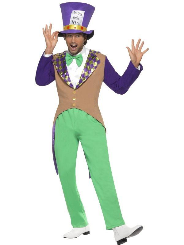 Mad Hatter Alice in Wonderland Verkleedkleding