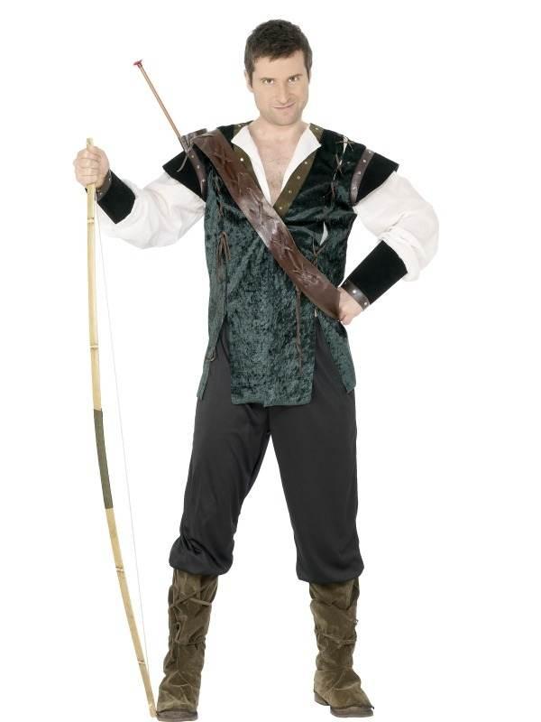 Robin Hood Heren Kostuum