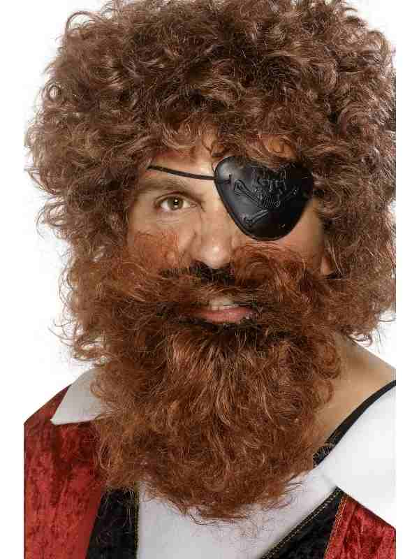 Bruine Piraten Baard