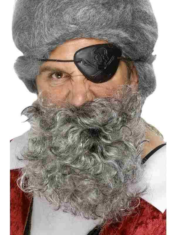 Lichtgrijze Piraten Baard