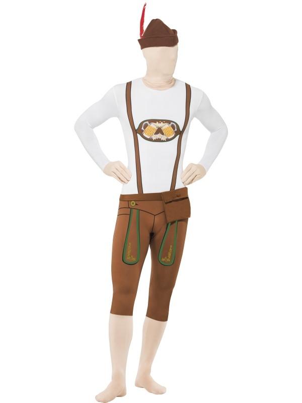 Bavarian Oktoberfest Second Skin Morph Suit Verkleedkleding