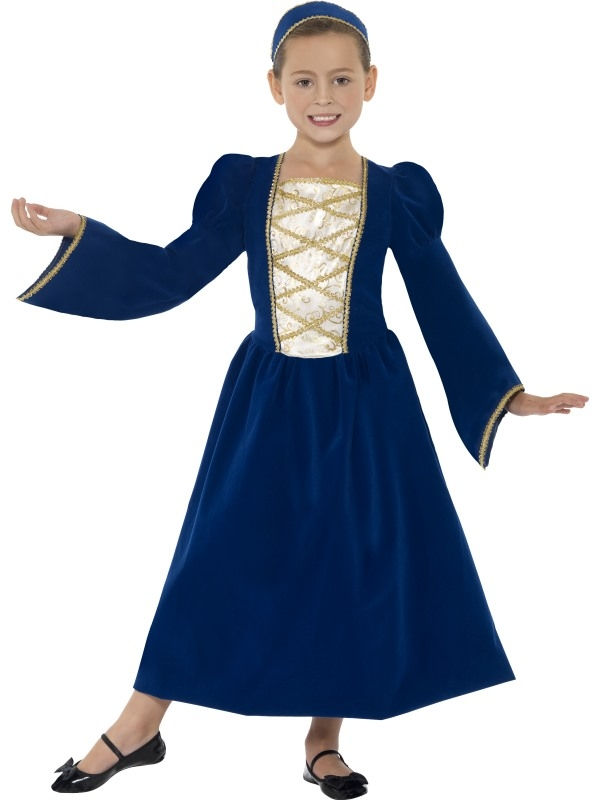 Tudor Princess Prinsessen Meisjes Kostuum