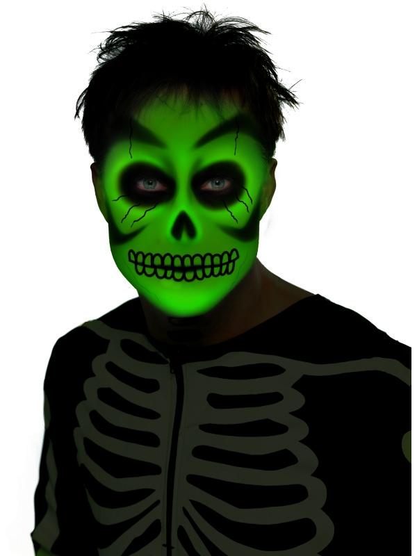 Glow in the Dark Creme Schmink Halloween