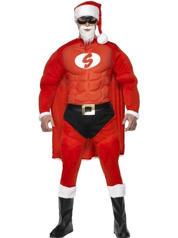 Super Santa Kerstman Kostuum